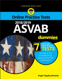 2018 2019 ASVAB For Dummies with Online Practice