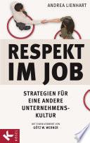 Respekt im Job