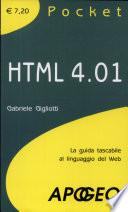 HTML 4 01  La guida tascabile al linguaggio di programmazione