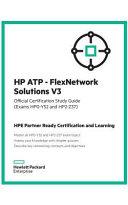HP ATP   FlexNetwork Solutions V3 Study Guide  HP0 Y52