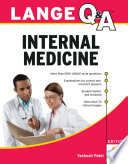 Lange Q A Internal Medicine  5th Edition