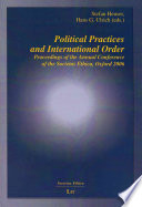 Political Practices and International Order