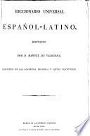Diccionario universal espa  ol latino