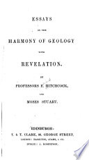 Essays on the harmony of geology with revelation