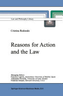 download ebook reasons for action and the law pdf epub