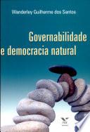 Governabilidade e democracia natural
