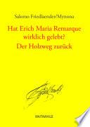 Hat Erich Maria Remarque wirklich gelebt?