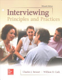Loose Leaf for Interviewing  Principles and Practices