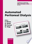 Automated Peritoneal Dialysis