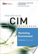 CIM Coursebook Marketing Environment 07 08