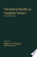 Theoretical Studies in Computer Science