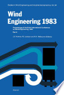 Wind Engineering 1983 3a book