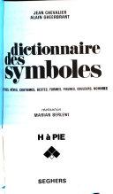 Dictionnaire des symboles, 4 tomes