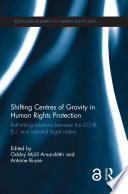 Shifting Centres Of Gravity In Human Rights Protection