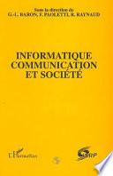 Informatique, communication et société