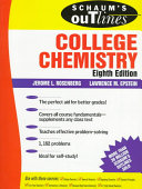 Schaum s Outline of Theory and Problems of College Chemistry