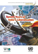 Twenty Years of India s Liberalization
