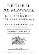 L Encyclope die Diderot et d Alembert  Artisanat au 18eme sie cle