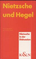 Nietzsche und Hegel