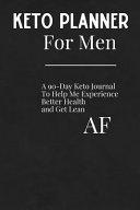 Keto Planner For Men