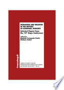 Humanism and Religion in the History of Economic Thought  Selected Papers from the 10th Aispe Conference
