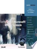 VBA for the 2007 Microsoft Office System  Adobe Reader