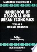 Handbook of Regional and Urban Economics  Regional economics