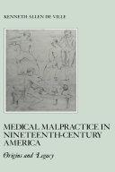 download ebook medical malpractice in nineteenth-century america pdf epub