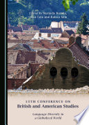 13th Conference on British and American Studies