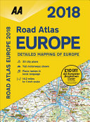 2018 Road Atlas Europe