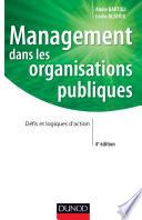 Management dans les organisations publiques   4e   dition