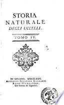 Storia naturale degli uccelli [di M. de Buffon e M. de Mombeillard]