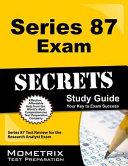 Series 87 Exam Secrets Study Guide