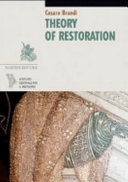 Theory of Restoration