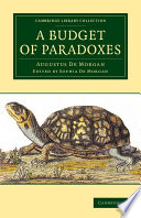 A Budget Of Paradoxes : through time, from circle-squarers to...