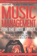 Music Management for the Indie Artist