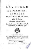 L aveugle de Palmyre