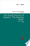 The Social Science of Hayek s  The Sensory Order