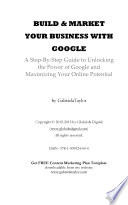 Build   Market Your Business with Google