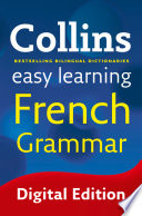 Easy Learning French Grammar  Collins Easy Learning French