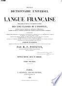 Nouveau dictionnaire universel de la langue française