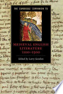 The Cambridge Companion to Medieval English Literature 1100 1500