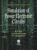 Simulation of Power Electronic Circuits