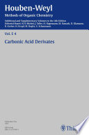Houben-Weyl Methods of Organic Chemistry Vol. E 4, 4th Edition Supplement