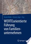 Werteorientierte F Hrung Von Familienunternehmen