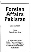 Foreign Affairs Pakistan