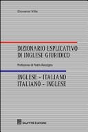 Dizionario inglese giuridico