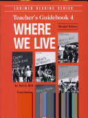 Where We Live 4: Teacher's Guidebook