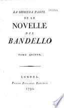 La prima  seconda et teza  parte de la Novelle