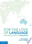 For the Love of Language